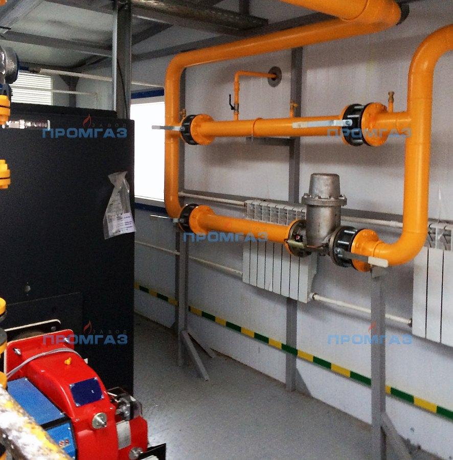 Транспортабельная котельная установка мощностью 400 кВт